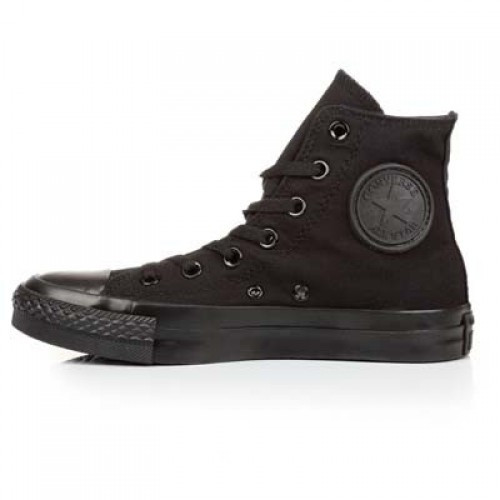 Кеды Converse All Star Mono Black Высокие 35