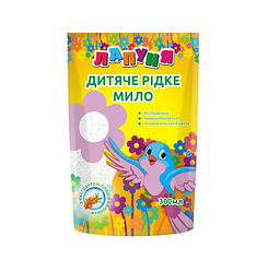 Дой-пак Лапуня Детское жидкое мыло с экстрактом плодов облепихи 0,3 мл 30шт / уп