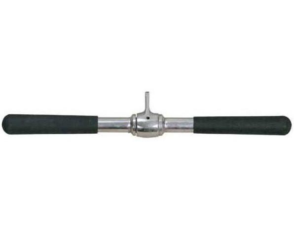 Ручка для нижней тяги InterAtletika вращающаяся 46 см (E5-01-M)