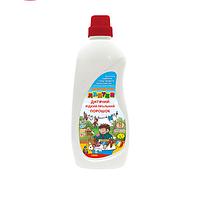 Детский стиральный порошок Лапуня жидкий 1л 10шт / уп