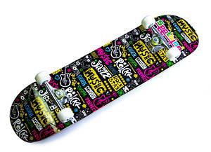 Скейтборд детский Music С рисунком до 80кг (SD)