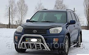 Кенгурятник двойной (защита переднего бампера) Toyota RAV4 2000-2005