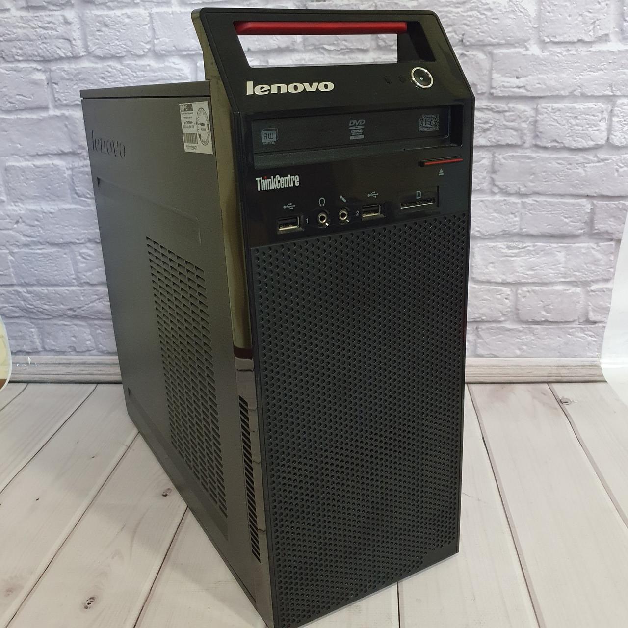 Системний блок Lenovo MT (Intel Core i3-4130 4x3.40 Ghz/4 Gb DDR3/HDD 250 Gb/DVD)
