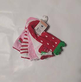 Носочки для новорожденных Клубника Primark  0-6мес.