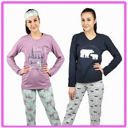 Пижамы женские кофта и штаны