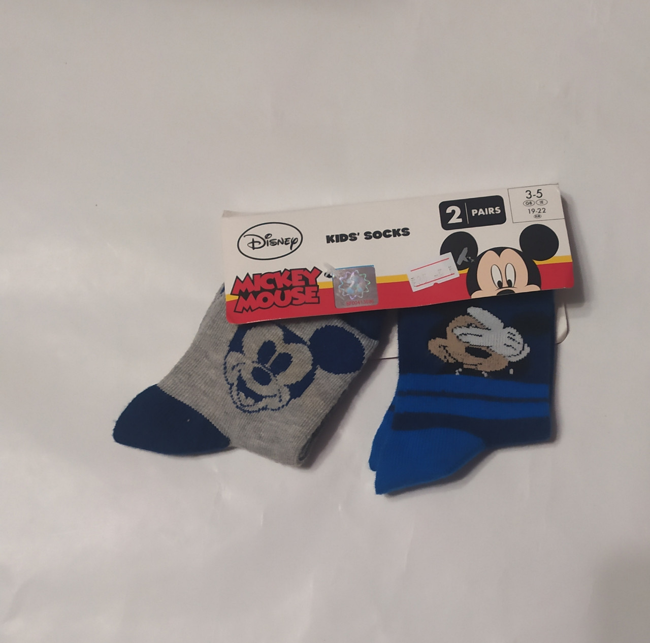 Детские носки, Mickey Mouse Disney 19-22