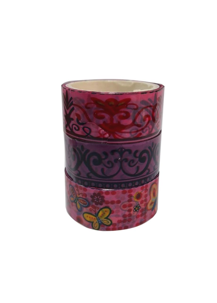 Набор декоративного скотча (3шт) 3м Penny 1,5х300см Разноцветный