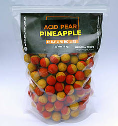 Бойлы вареные Acid Pear & Pineapple, 1 кг 20,0 мм