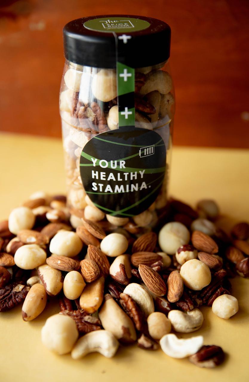 Healthy Stamina / Ореховая банка
