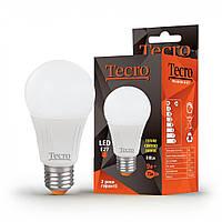 Лампа светодиодная Tecro PRO-A60 LED 9Вт 810Лм E27 3000К тёплый свет (PRO-A60-9W-3K-E27)