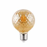 Лампа светодиодная филаментная Horoz Electric RUSTIC TWIST-4 Filament LED 4Вт 360Лм Е27 2200К