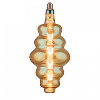 Лампа светодиодная филаментная Horoz Electric ORIGAMI-XL Amber LED 8Вт 620Лм Е27 2200К