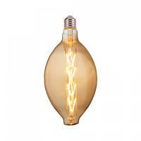 Лампа светодиодная филаментная Horoz Electric ENIGMA Filament Amber LED 8Вт 620Лм Е27 2200К