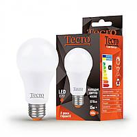 Лампа светодиодная Tecro LED 15Вт 1370Лм E27 4000К холодный свет (TL-A65-15W-4K-E27)