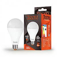 Лампа светодиодная Tecro LED 20Вт 1900Лм E27 4000К холодный свет (TL-A80-20W-4K-E27)