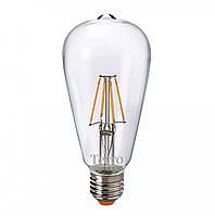 Лампа светодиодная Tecro Loft ST64 LED 3Вт 320Лм E27 2700К тёплый свет (ST64-3W-2.7K-E27)