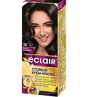 """Краска для волос Éclair с маслом """"OMEGA 9"""" 30 Темно-каштановый"""