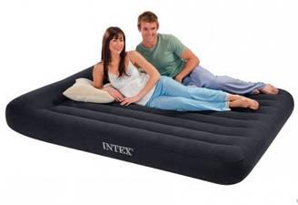 Надувной матрас суперкласса Intex 66769 двухспальный 152 см х 203 см х 30 см с подголовником