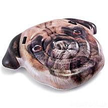 Надувний пліт Intex 58785 Собака, 173-130 см, фото 3
