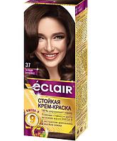"""Фарба для волосся Éclair з маслом """"OMEGA 9"""" 37 Чорний шоколад"""