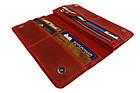 Кошелек женский кожаный большой SULLIVAN kgb50(10) красный, фото 4