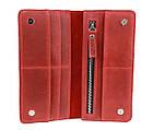 Кошелек женский кожаный большой SULLIVAN kgb50(10) красный, фото 6