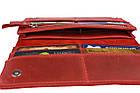 Кошелек женский кожаный большой SULLIVAN kgb50(10) красный, фото 8