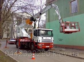 """Аренда автовышки 38 метров """"SCANIA"""""""