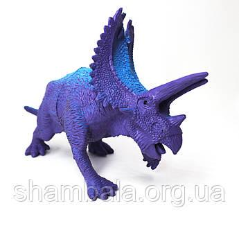 """Фигурка Limo Toy """"Динозавр"""" сиреневый (067179)"""