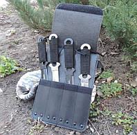 Набор метательных ножей в футляре. Премиум ножи для метания Haller.