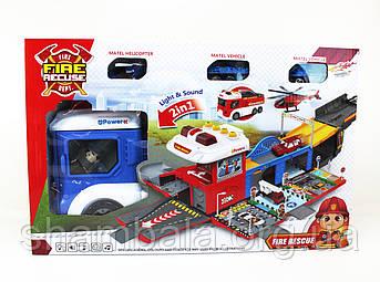 "Набір машини-гараж Fire Recuse ""Garazh"""