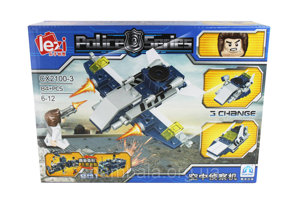 "Конструктор Lezi ""Police Series"" (071251)"