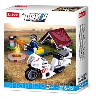 "Конструктор Sluban ""Town motorcycle"" (067216)"