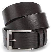 Мужской элитный кожаный ремень GRANDE PELLE 00776 Коричневый, фото 1