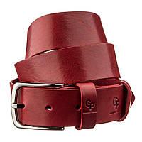 Ремень женский кожаный GRANDE PELLE 11262 Красный, фото 1