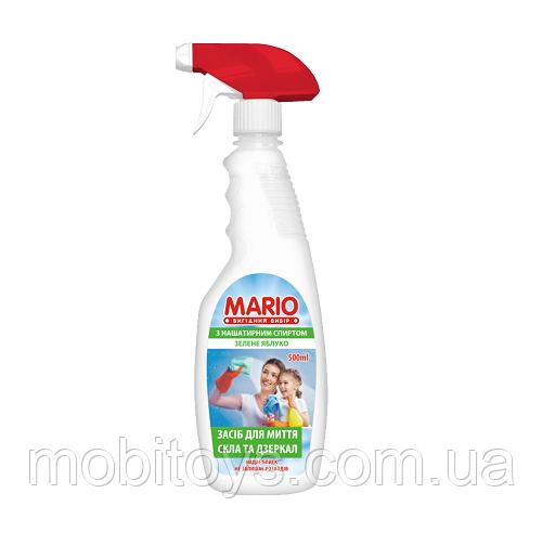"""Для стекла триггер """"Марио"""" 0,5л.Зелене Яблоко (12шт. / Уп.)"""