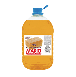 Господарське рідке мило для прання Mario 5000 мл (4823317635323)