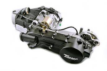 Двигатель (В сборе)  на Китайский Скутер 4Т 4-х тактный (Gy6) 150 см³ (157QMJ) (13 колесо, под два