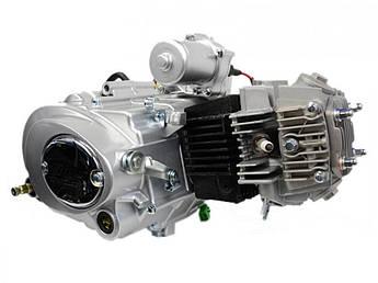 Двигатель (В сборе)  на Мопед Дельта (Deltа), на Мопед Альфа (Alphа) 70 см³ (Механическая коробка передач