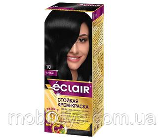 """Краска для волос Éclair с маслом """"OMEGA 9"""" 10 Черный"""