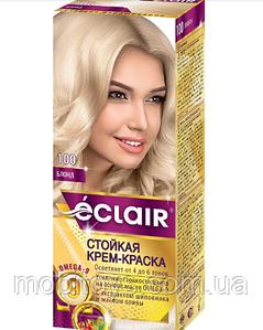 """Краска для волос Éclair с маслом """"OMEGA 9"""" 100 Блонд"""