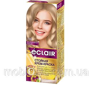 """Краска для волос Éclair с маслом """"OMEGA 9"""" 116 Яркий Пепельный блондин"""
