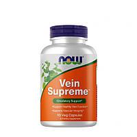 Натуральная добавка NOW Vein Supreme, 90 вегакапсул