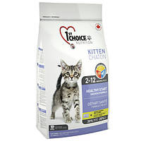 Сухой корм 1st Choice Kitten Healthy Start для котят 5,44 кг