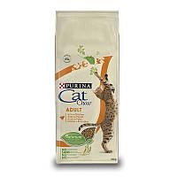 Сухой корм Cat Chow (Кет Чау) Adult для кошек с индейкой и курицей 15 кг