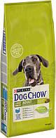 Сухой корм Dog Chow (Дог Чау) Adult Large Breed для взрослых собак больших пород со вкусом индейки 14 кг