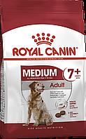 Сухой корм Royal Canin Medium Adult 7+ для собак средних пород  4 кг