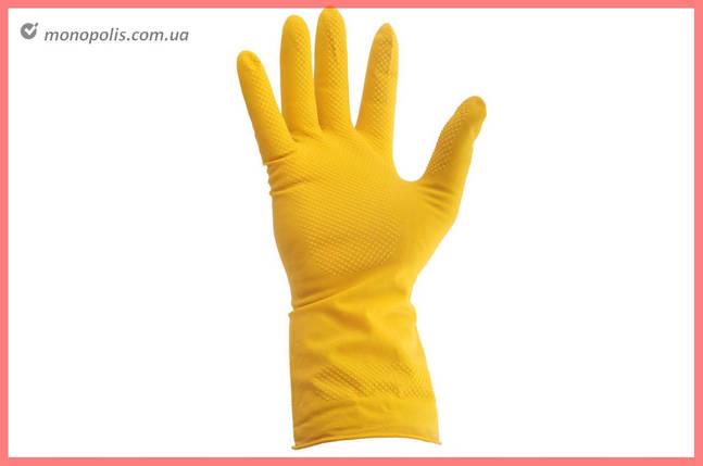"""Перчатки Intertool - резиновые (L) 9"""", фото 2"""
