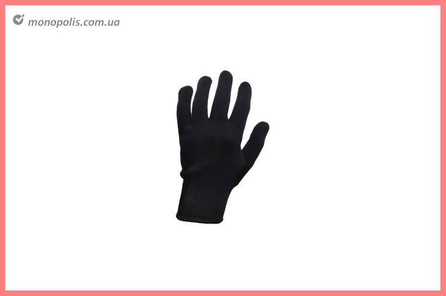 """Перчатки Сила - х/б с точкой 60 г черные 10"""", фото 2"""