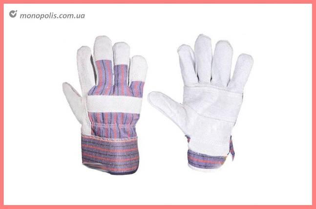 """Перчатки PRC - замшевые комбинированные, усиленная ладонь 10,5"""", фото 2"""